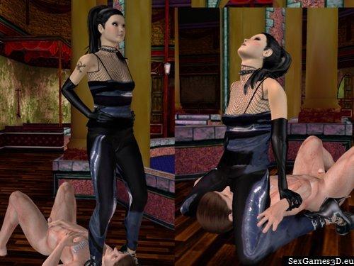 Online sex domination game