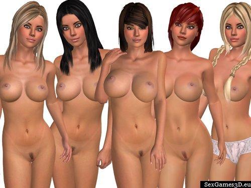 Models 3d sex