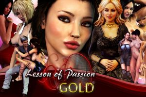 Adult flash games by Lesson of Passsion Gold